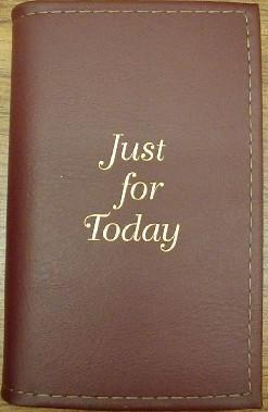 "Paperback ""Just For Today"" Cover"