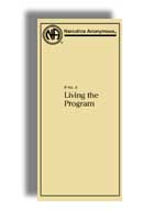 IP #9 Living the Program (Large Print)