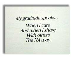 My Gratitude Speaks Poster